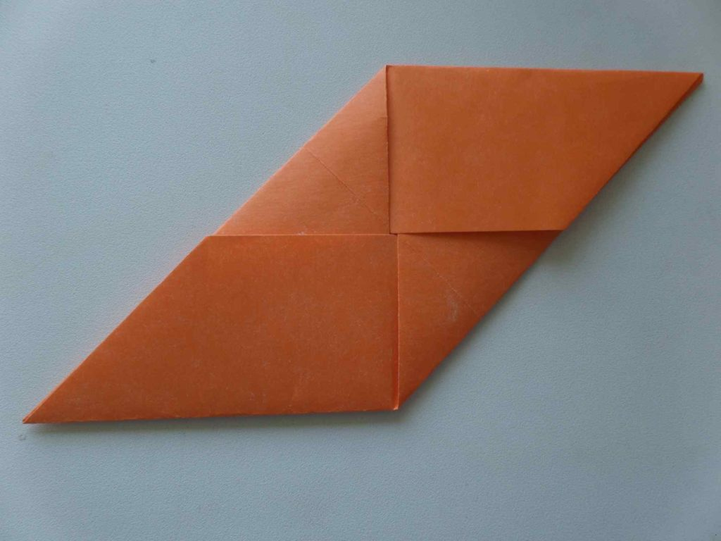 Кубик из бумаги