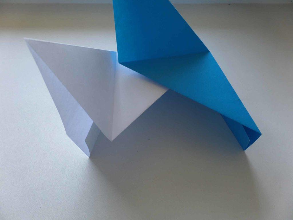 Коробочка из бумаги, с секретом
