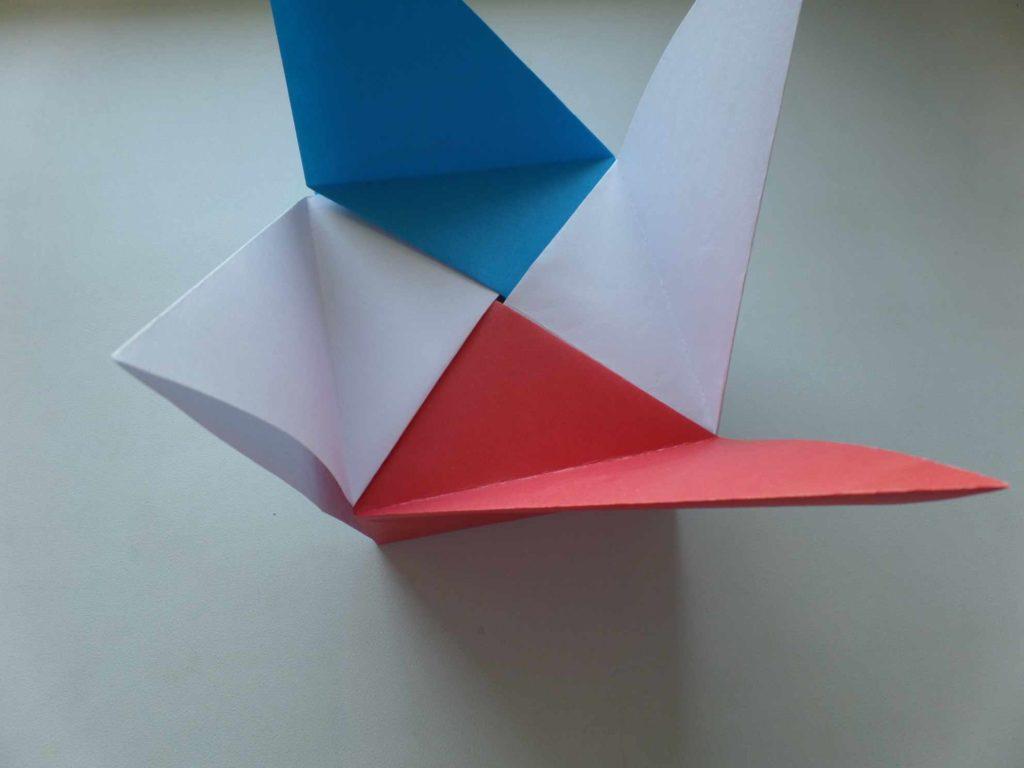 коробочка из бумаги
